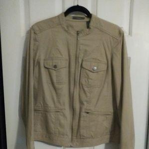 Liz Claiborne zip front jacket size XL